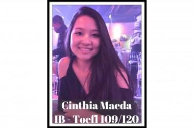 Most recent reported score - Cinthia Maeda